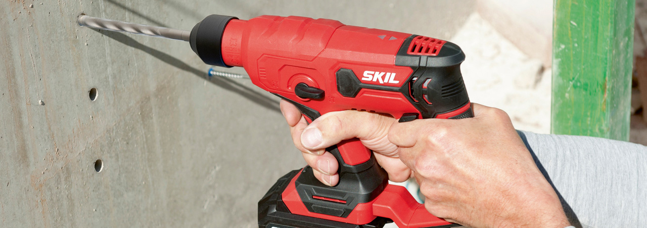 Cordless SDS drills