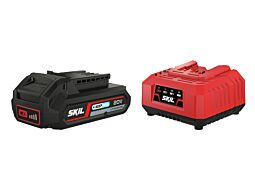 SKIL 3110 AA Battery ('20V Max' (18V) 2,5Ah 'Keep Cool' Li-Ion) and charger
