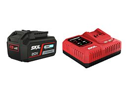 SKIL 3111 AA Battery ('20V Max' (18V) 4,0Ah 'Keep Cool' Li-Ion) and 'Rapid' charger