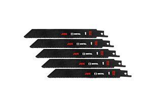 SKIL Set of 5 BIM saw blades for metal